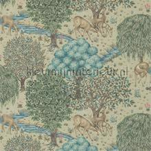 the brook linen tapeten Morris and Co The Craftsman Wallpapers 216478