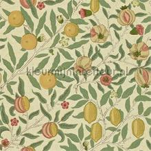 fruit beige coral gold tapeten Morris and Co The Craftsman Wallpapers 216484