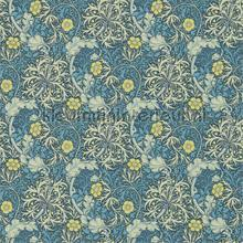 morris seaweed ink woad tapeten Morris and Co The Craftsman Wallpapers 216485