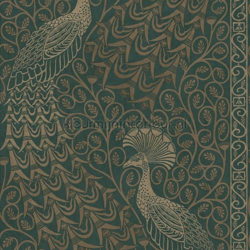 Pavo Parade papier peint 116-8031 The Pearwood Collection Cole and Son