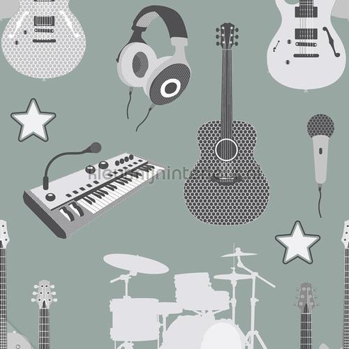 Muziekinstrumenten tapet 27142 Thomas Behang Expresse