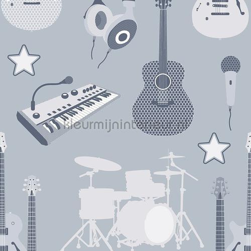 Muziekinstrumenten tapet 27143 Thomas Behang Expresse