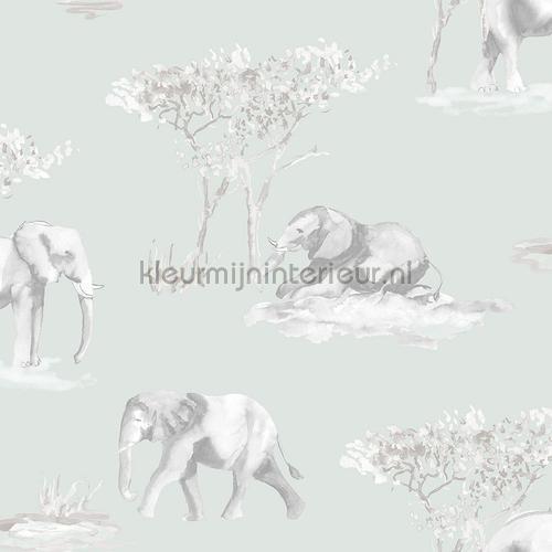 Olifanten schets behang 27147 Thomas Behang Expresse