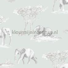 Olifanten schets behang Behang Expresse jongens
