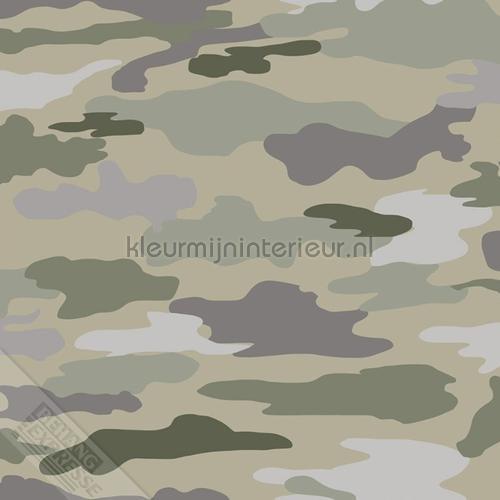 Camouflage behang 27148 Thomas Behang Expresse