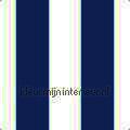 Streep blauw ecru 13 cm Thomas behang expresse