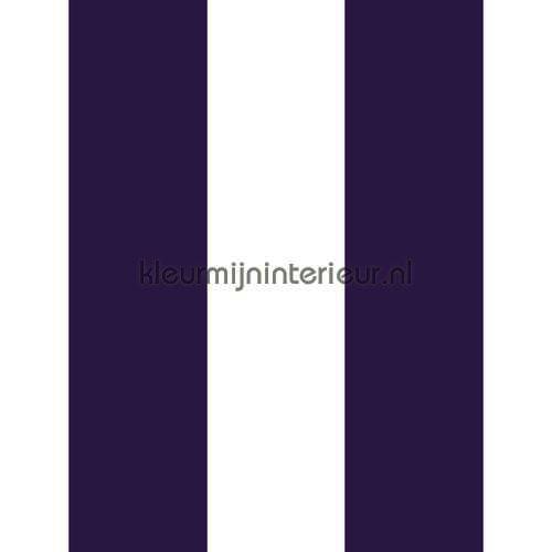 Streep paars wit 13 cm tapet 27165 Thomas Behang Expresse