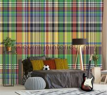 Plaid met ruiten carta da parati Behang Expresse Thomas ink7099