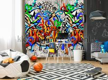 Graffti muur carta da parati Behang Expresse Thomas ink7101