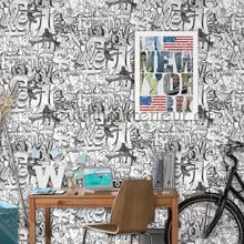 Graffity teksten tapet th27118 Thomas Behang Expresse