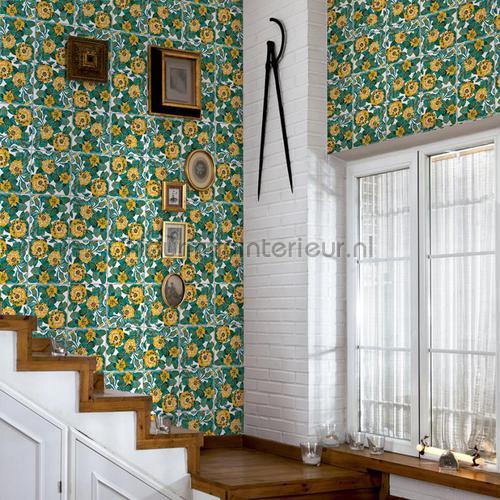 daisy tapet 3000022 Tiles Coordonne
