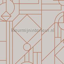 lush tapet Hookedonwalls Tinted Tiles 29012