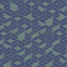 flake tapet Hookedonwalls Tinted Tiles 29024