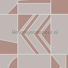 groove tapet Hookedonwalls Tinted Tiles 29041