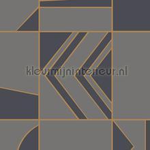 groove tapet Hookedonwalls Tinted Tiles 29043