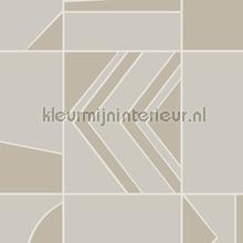 groove tapet Hookedonwalls Tinted Tiles 29044