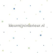 Blauwe en groene sterren papel pintado Noordwand oferta