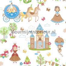 Prinsessen pret behang Noordwand Baby Peuter