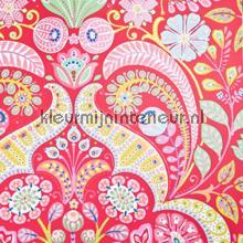 Motif des fleurs rouge behang Eijffinger Tout Petit 354003