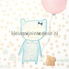 Ballon pastel behang Eijffinger Tout Petit 354011