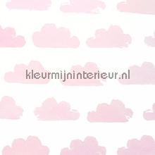 Nuanges blanc et rose behang Eijffinger Tout Petit 354071