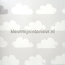 Nuanges gris et blanc behang Eijffinger Tout Petit 354073