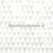 Triangles gris behang Eijffinger Tout Petit 354080