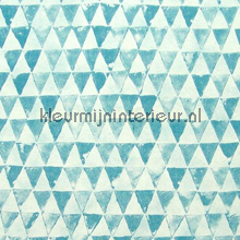 Triangles blue behang Eijffinger Tout Petit 354083