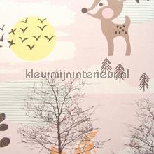 Petit amis des forêt behang Eijffinger Tout Petit 354112