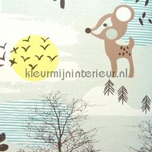 Petit amis des forêt behang Eijffinger Tout Petit 354113