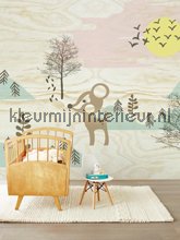 Bambi in the woods fotobehang Eijffinger babykamer