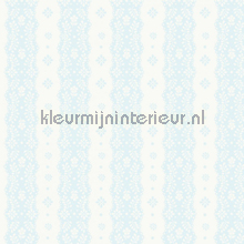 Dentelle stripe pale blue papier peint Room Seven Travel Memories 2200303