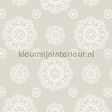 Suzani beige n wallcovering Room Seven Travel Memories 2200702