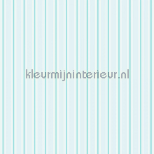 Pin stripe pale blue papier peint Room Seven Travel Memories 2200805