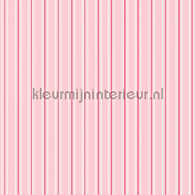 Pin stripe pink papier peint Room Seven Travel Memories 2200806