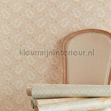 Opengewerkt Ventiaans kant beige behang Eijffinger barok