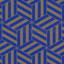 Grafisch gestileerde kubussen carta da parati Arte Ulf Moritz Geometric 16400