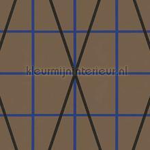 Raster en diagonalen papel de parede Arte Ulf Moritz Geometric 16405