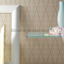 Raster en diagonalen papel de parede Arte Ulf Moritz Geometric 16410