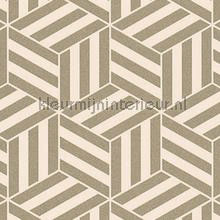 Grafisch gestileerde kubussen behang Arte Ulf Moritz Geometric 16415