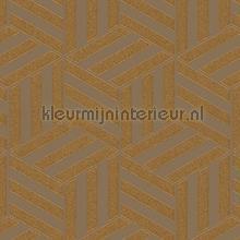Grafisch gestileerde kubussen papel de parede Arte Ulf Moritz Geometric 16417