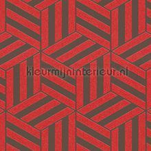 Grafisch gestileerde kubussen carta da parati Arte Ulf Moritz Geometric 16421