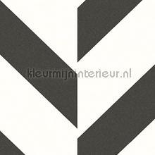 Versprongen diagonale zigzag papel pintado Arte adolescente