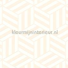 Grafisch gestileerde kubussen carta da parati Arte Ulf Moritz Geometric 16426