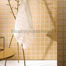 Grid met metallic relief tapet Arte interiors