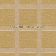 Grid met metallic relief tapet Arte Ulf Moritz Mineral 17101