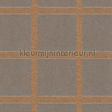 Grid met mica look relief papel pintado Arte Ulf Moritz Mineral 17102