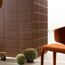 Rechthoekige blokken met mica look relief wallcovering Arte Ulf Moritz Mineral 17118