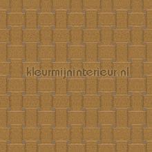 Rechthoekig vlechtwerk wallcovering Arte Ulf Moritz Mineral 17127