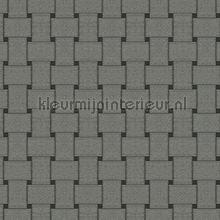 Rechthoekig vlechtwerk wallcovering Arte Ulf Moritz Mineral 17128